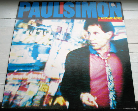 "Paul Simon ""Hearts And Bones"" LP, 1983"