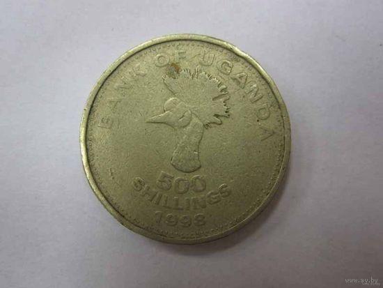 500 Шиллингов 1998 (Уганда)