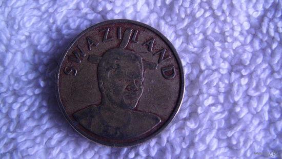 Свазиленд 1 Лилангени 1998г. распродажа