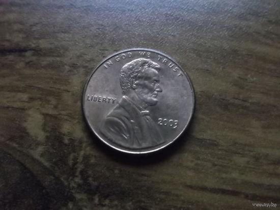 США 1 cent 2003