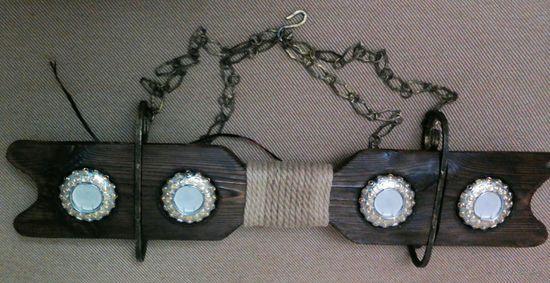 Люстра на цепях, ручная работа , hand made