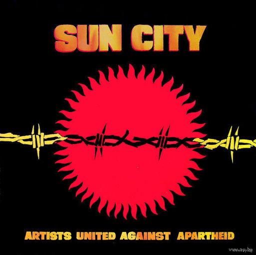 0318. Artists united against apartheid. Sun City. 1985. Manhattan (EEC) = 11$